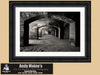 Fort Jefferson, Florida Keys, Brick Archways, Dry Tortugas National Park, Black & White Photo, Framed Print