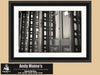 Galveston Texas, Black and White Photo, Victorian Architecture, Framed Print