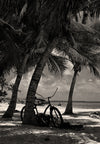 Key West Florida, Higgs Beach, Florida Keys, Black and White Photography - Black and White Photography by Andy Moine