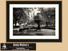 Lafayette Square, Savannah Georgia, Black and White Photography - Black and White Photography by Andy Moine
