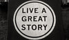 Live a great story, New Orleans Louisiana, Black and White Photo