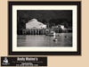 Monterey Bay Canning Company, California, Black and White Photo, Framed Print