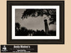 Ponce De Leon Lighthouse, Ponce Inlet Florida, Black and White Photo, Framed Print