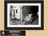 Vintage Fiat, Old Town Rhodes - The Greek Islands, Black and White Photography - Black and White Photography by Andy Moine