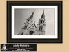 St John the Baptist Cathedral, Lafayette Square, Savannah Georgia, Black and White Photography - Black and White Photography by Andy Moine