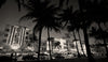 Miami Beach, Art Deco Buildings, South Beach Miami Florida, Black & White Photo