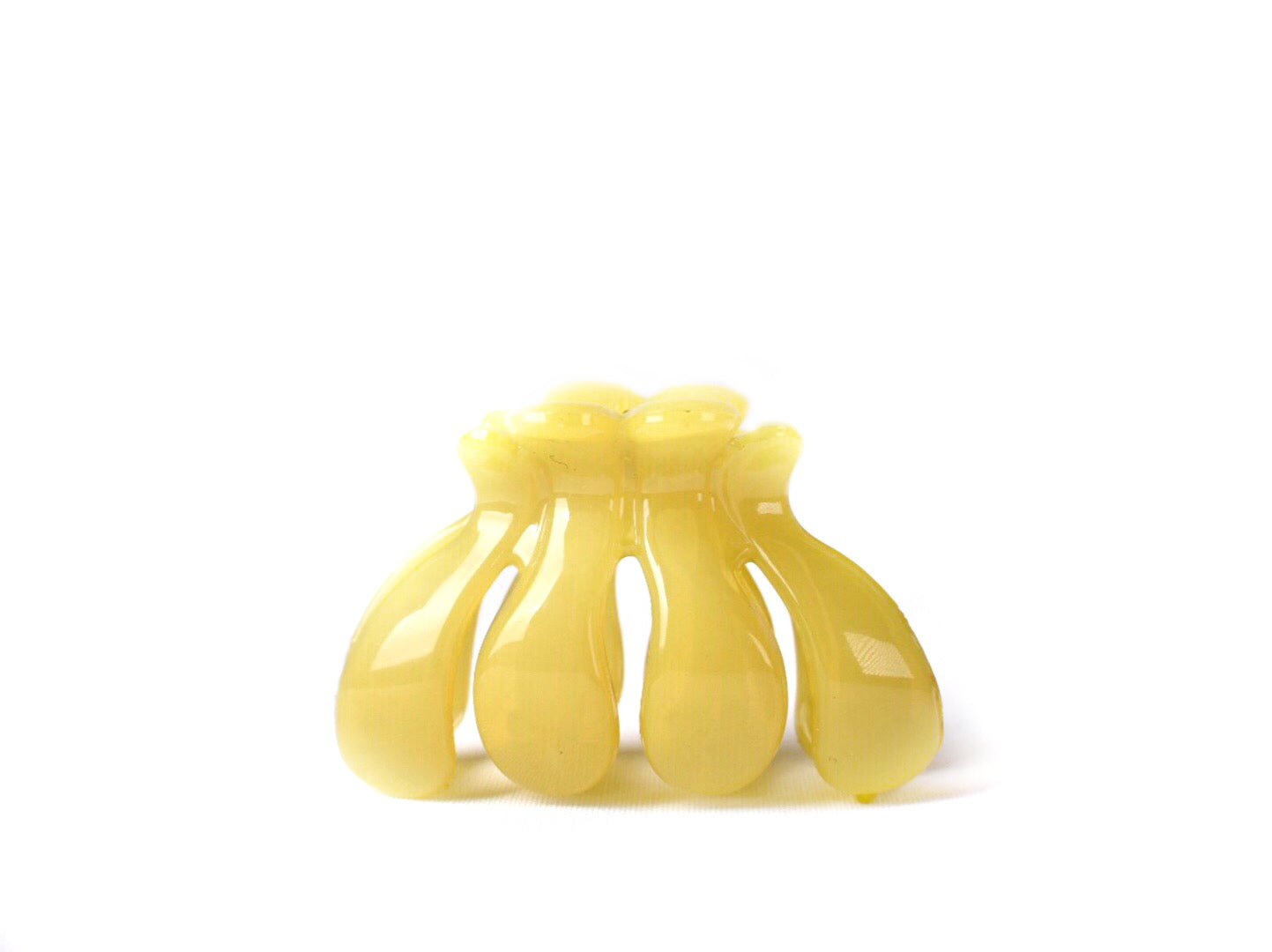 OCTOPUS HAIR CLIP, YELLOW