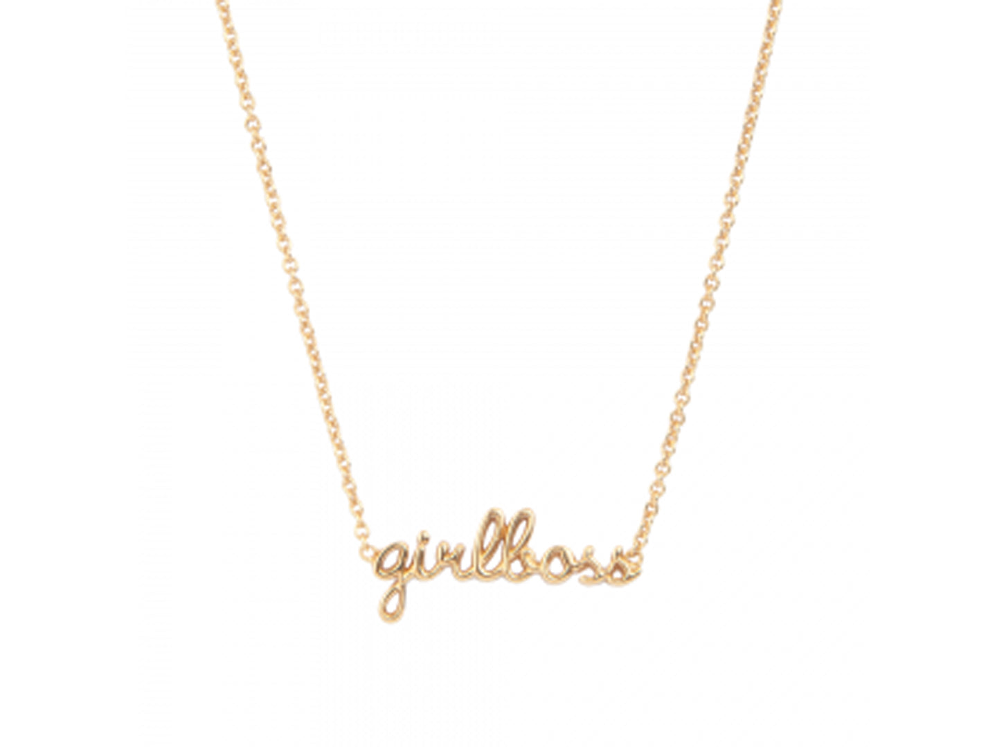 GIRLBOSS NECKLACE, GOLD