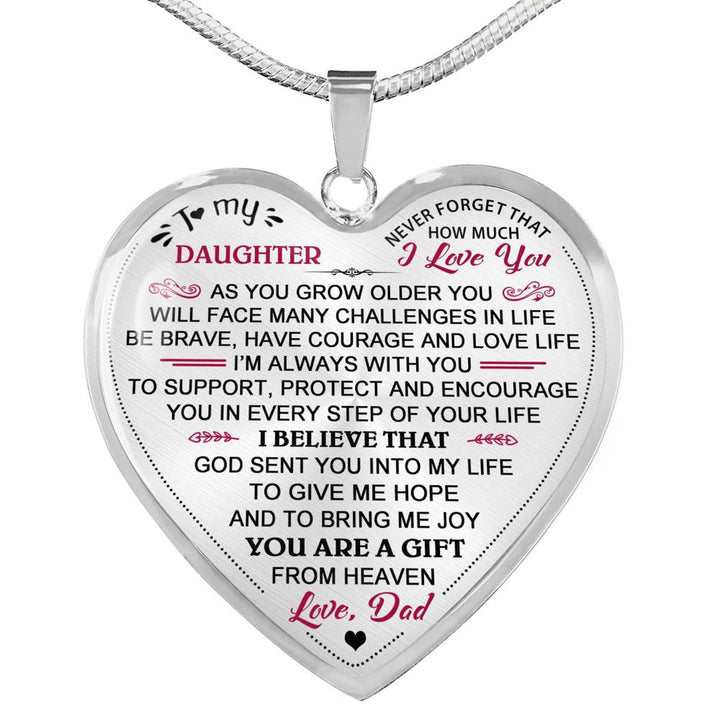 Daughter Birthday Gift From Daddy Father Papa