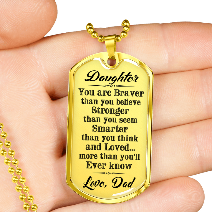 Great Father to Daughter - You Are Braver Than You Believe