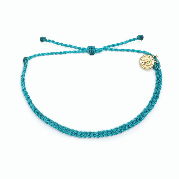 Pura Vida Mini Braided Solid