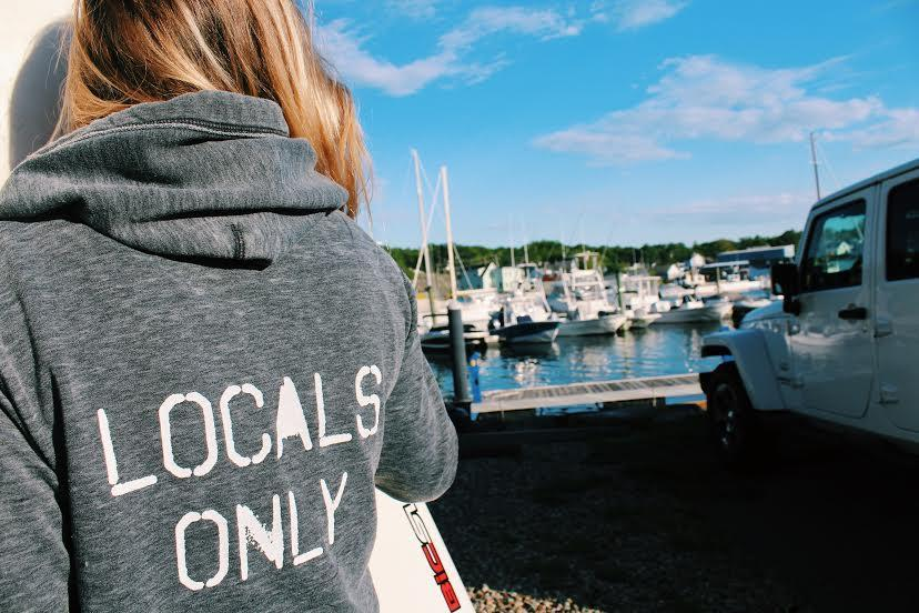 Locals Only Unisex Zip Up