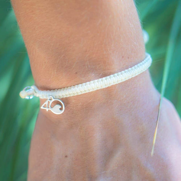 4Ocean Polar Bear Braided Bracelet