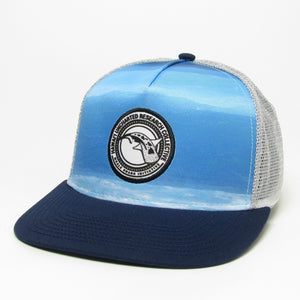 Hawaii Uncharted Flat Brim Hat