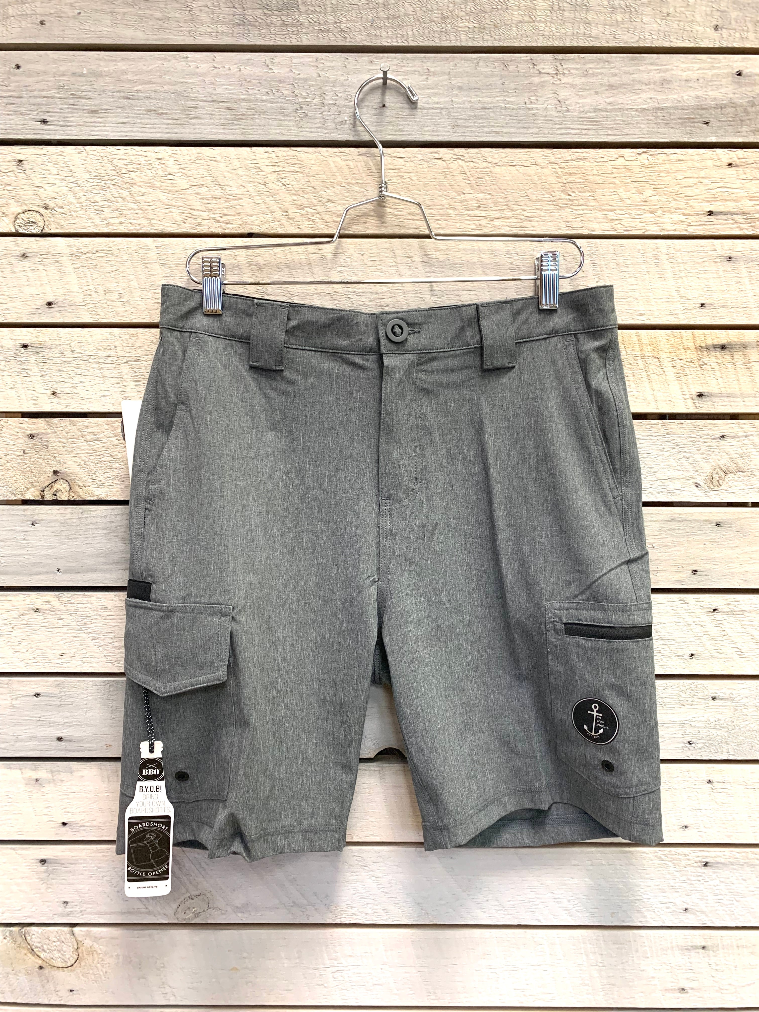 Mens One Ocean Bottle Opener Swim Shorts