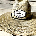 Respect The Locals Straw Sun Hat