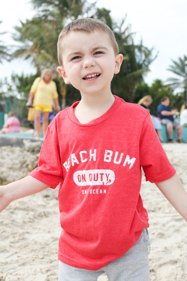 Beach Bum Kids T