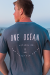 One Ocean Apparel Co Distressed T