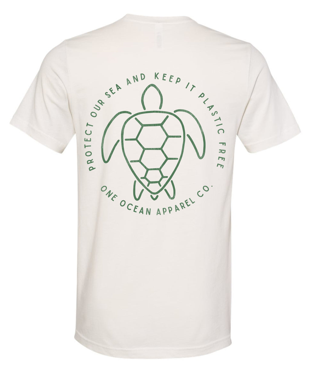Protect Our Seas, Turtle Vintage T
