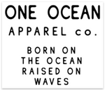 One Ocean Apparel Co. Bumper Sticker