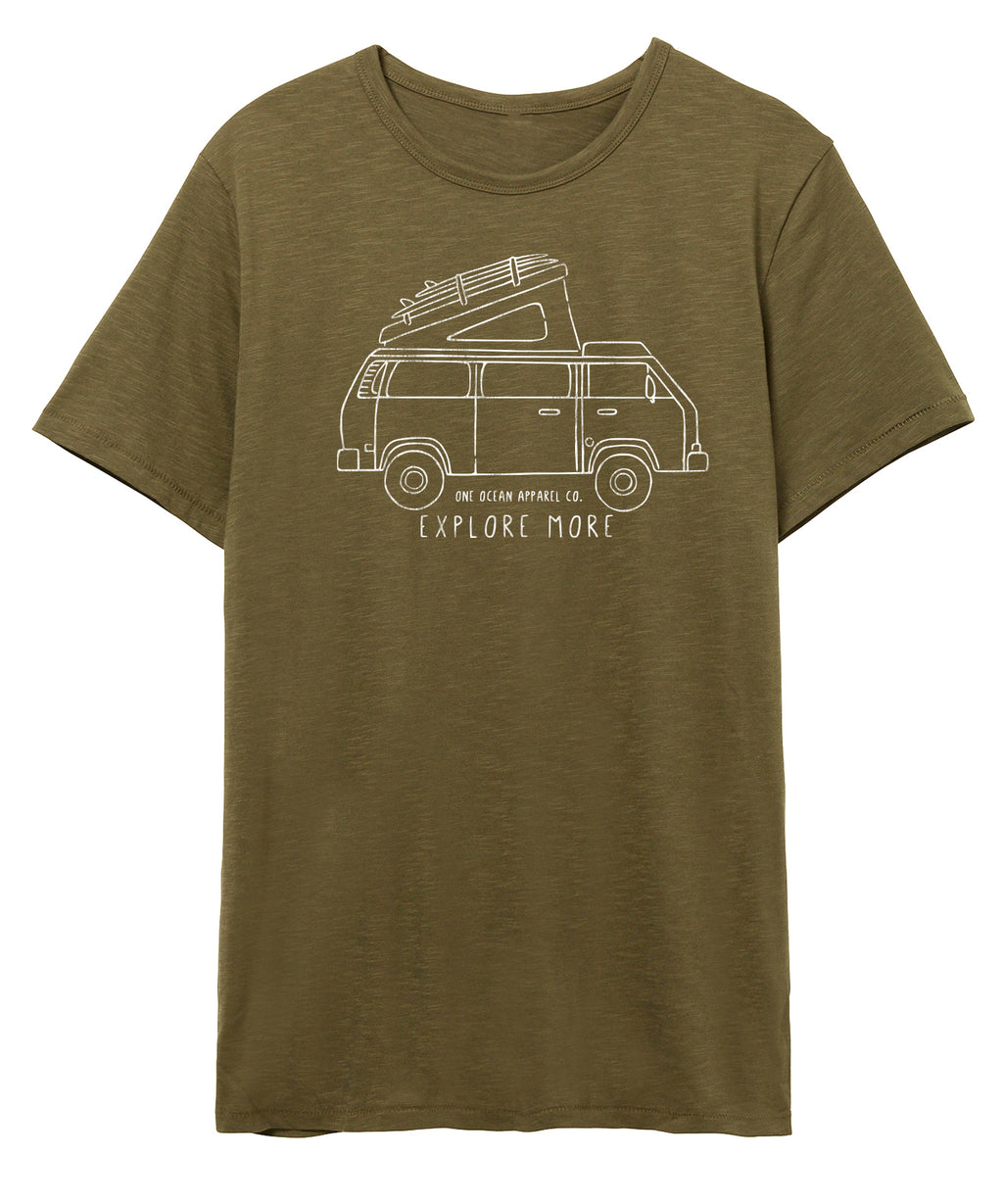 Explore More Westfalia Weathered Slub Tee