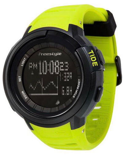 Mariners Tide Yellow / Black Freestyle Watch