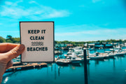 Keep It Clean Beaches Bumper Sticker