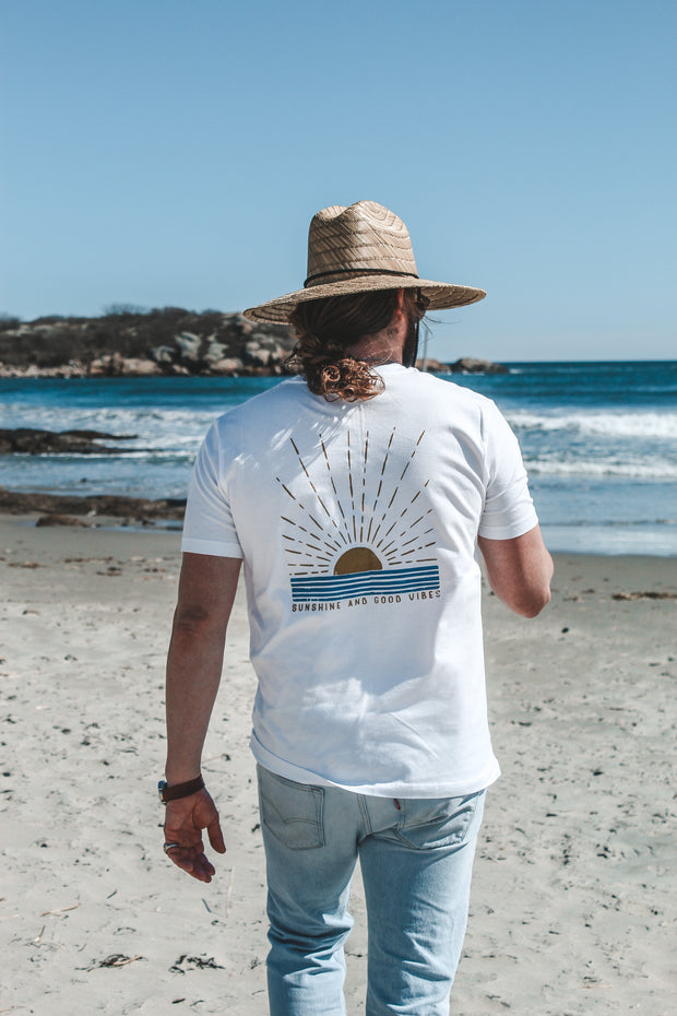 Sunshine and Good Vibes Pocket T