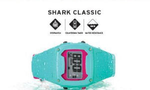 Shark Classic Pink / Green Freestyle Watch