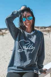 Salty Lazy Day Sweatshirt