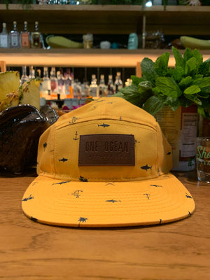 Five Panel Surf Hat