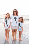 Whale Shark White T-Shirt