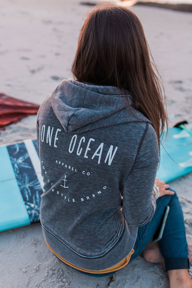 One Ocean Anchor Zip Up
