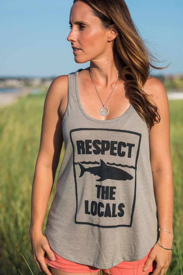 Respect the Locals Racerback Tank