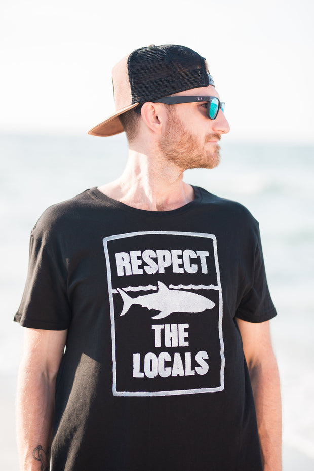 Respect the Locals Black T