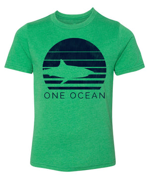 One Ocean Shark Kids T