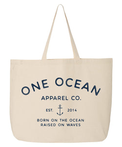 Cotton Canvas One Ocean Apparel Co. Tote