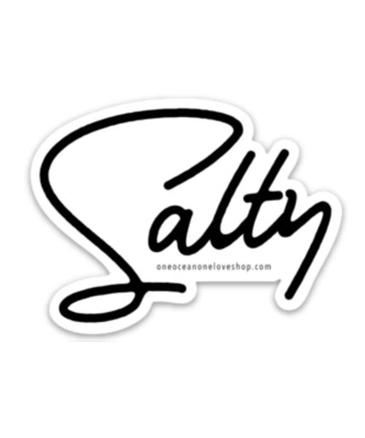 Salty Bumper Sticker