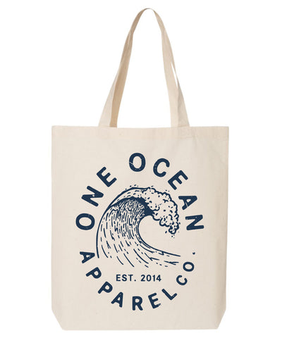 One Ocean Wave Tote