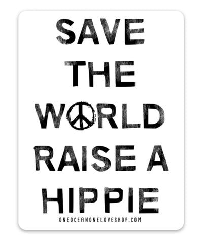 Save the World Bumper Sticker