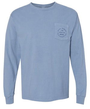 Respect The Locals Long Sleeve Pocket T