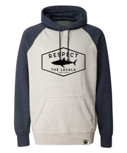 Respect The Locals Two Toned Plush Hoodie