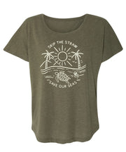 Skip The Straw Womens Flowy T