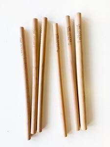 One Ocean Bamboo Straw