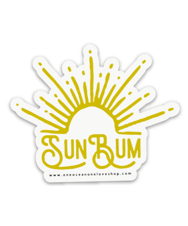 Sun Bum Bumper Sticker
