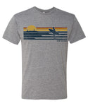 Sunrise Surfer Retro T