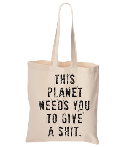This Planet Cotton Canvas Reusable Tote