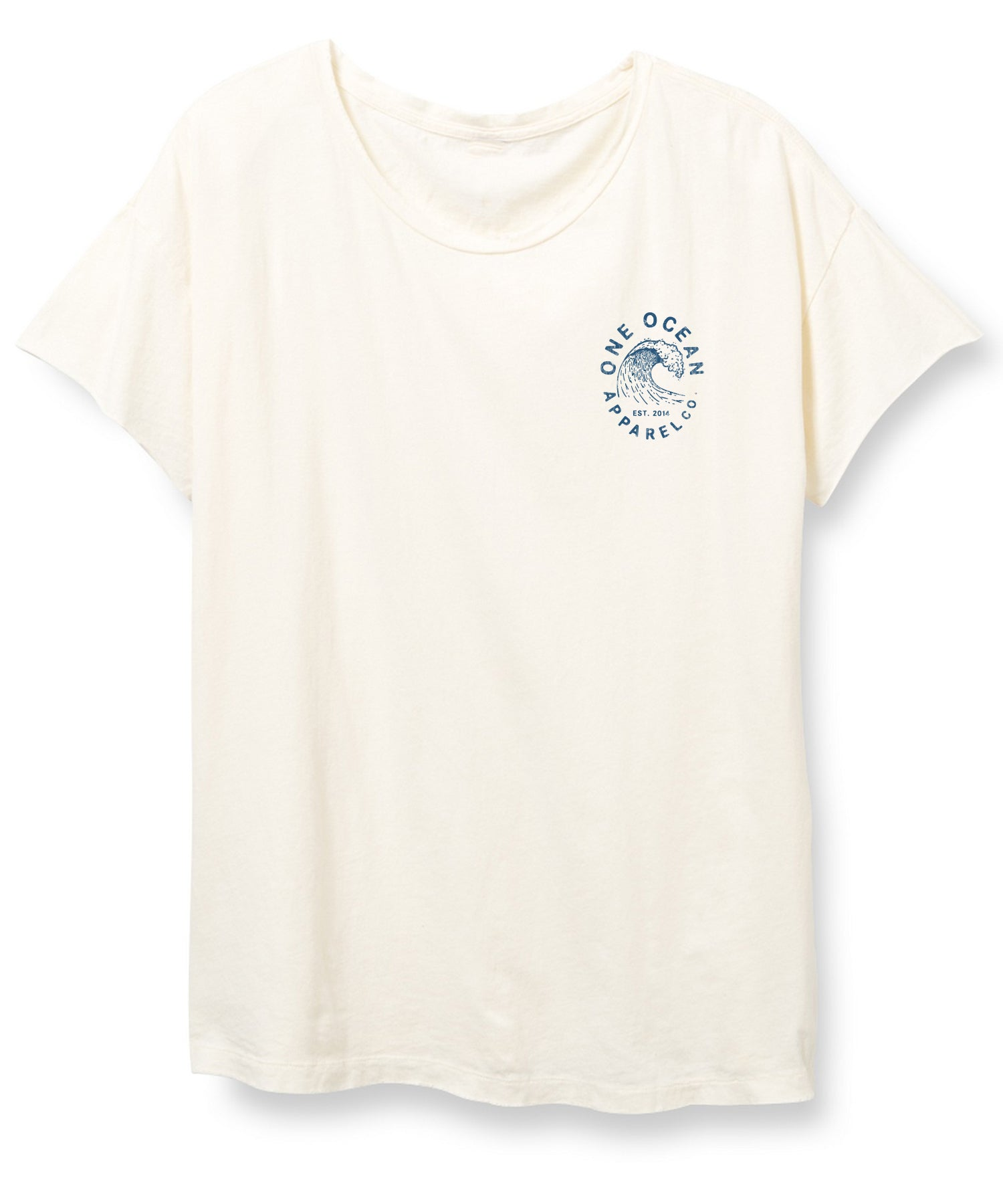 On Island Time Distressed Womens T