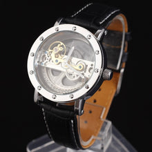 Transparent Face - Leather Strap