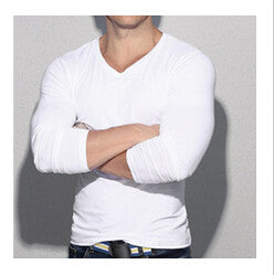 V Neck LongSleeve - 4 Colors